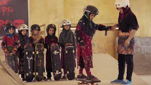 "An Oscar choice from Joan Harrison, ""Learning to Skateboard in a Warzone (If You're a Girl)"""